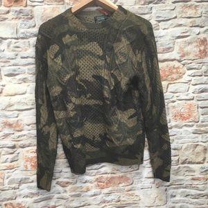 POLO cameo men's sweater